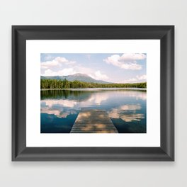 Daicey Pond and Mt. Katahdin Framed Art Print