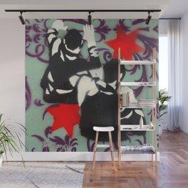 Brawl No.1 Wall Mural