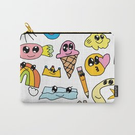 emoji by Hazel Carry-All Pouch