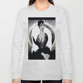 Josephine Baker the Original Flapper and Diva Long Sleeve T-shirt