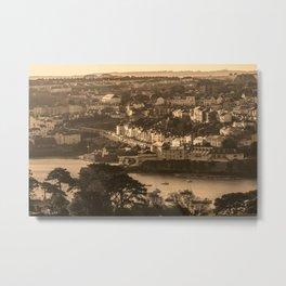 Falmouth Green Bank Metal Print