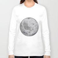 titan Long Sleeve T-shirts featuring Titan #5 by Tobias Bowman
