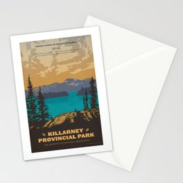 Killarney Park Poster Stationery Cards