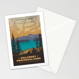 Killarney Park Poster Stationery Cards