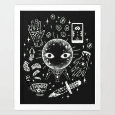 I See Your Future: Glow Art Print