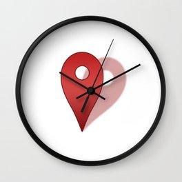 Right Where You Belong Wall Clock