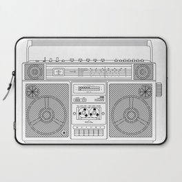 80s Boombox Laptop Sleeve