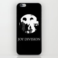 joy division iPhone & iPod Skins featuring JOY DIVISION - Music | Goth | Indie | Wave | Retro | Vintage | Vector | Black and White | Vinyl  by Gianluca Lucchese