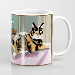 Cali Q Kitten Coffee Mug