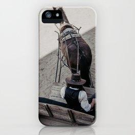 Cowboy World iPhone Case