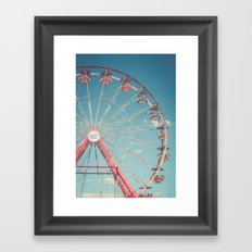 The Ferris Wheel 3 Framed Art Print