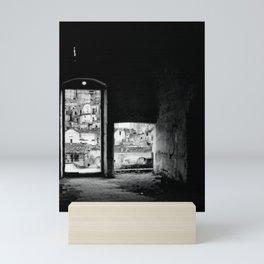 Sassi di Matera: home Mini Art Print