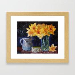 Springs Early Color Framed Art Print
