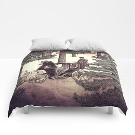 Two Gentlemen in the Forest Comforters