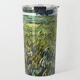 Vincent Van Gogh - House at Auvers Travel Mug