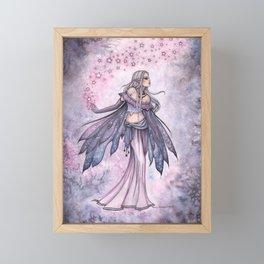 Captured Sky Celestial Fairy Fantasy Art Framed Mini Art Print