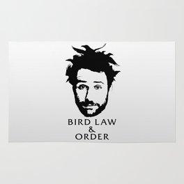 Charlie's Bird Law & Order Rug