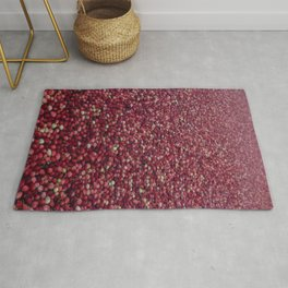 cranberry party Rug