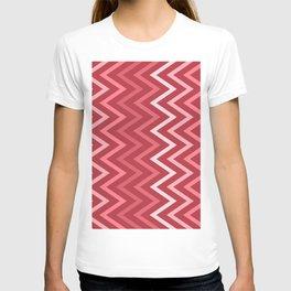 Valentine's Day Zig Zag Pattern T-shirt