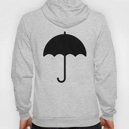 Black Umbrella Hoody