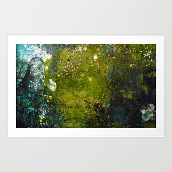 Forgotten path Art Print