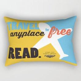Travel - Iowa City Public Library Rectangular Pillow