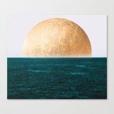 Gold Sunset Canvas Print