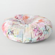 Love of a Flower Floor Pillow