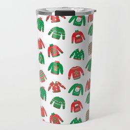 Cozy Chritmas Jumpers Travel Mug