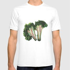 broccoli Mens Fitted Tee White MEDIUM
