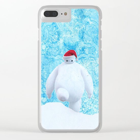 Baymax clause Clear iPhone Case