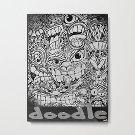 DOODLE BY TONY HATTEN Metal Print