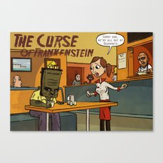 Curse of Frankenstein Canvas Print