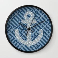 Knot & Anchor Wall Clock