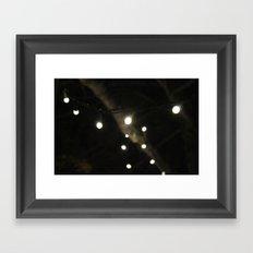 Glowing Framed Art Print