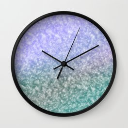 Blueish shades Wall Clock