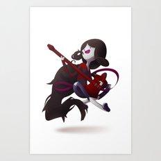 The Vamp Queen Art Print