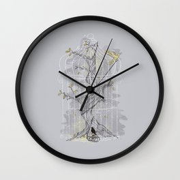 Home Confinement Wall Clock