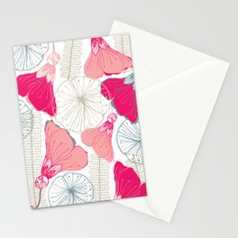 Flower Shapes3 Stationery Cards