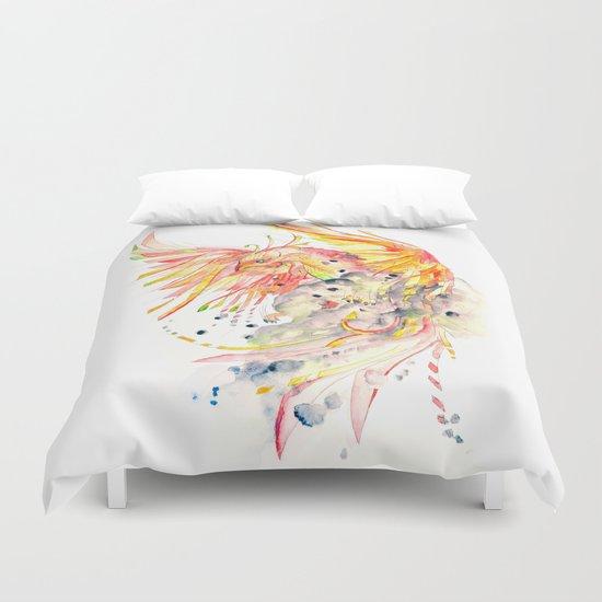 Phoenix Watercolor by nayakidraws