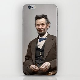 Abraham Lincoln Painting iPhone Skin