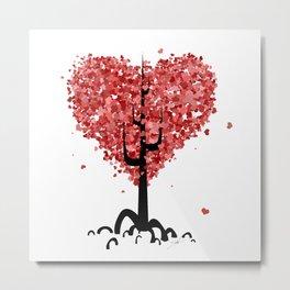 Hearty Tree Metal Print