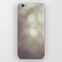Rain, rain iPhone Skin