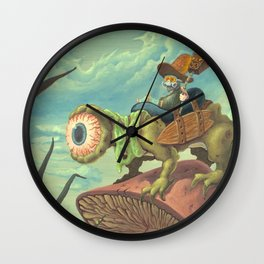 """The Search, 13""""x24"""" Wall Clock"""