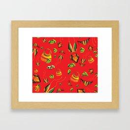 Summa Kente Framed Art Print