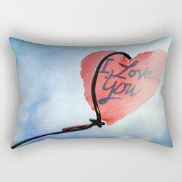 Heart in sky Rectangular Pillow