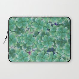 Four Leaf Clover Laptop Sleeve