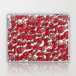 chinese animals red Laptop & iPad Skin