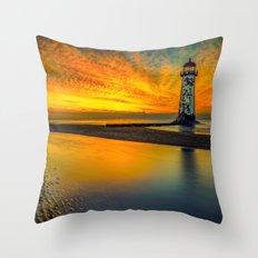 Evening Delight Throw Pillow