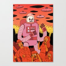 Alien Invader Canvas Print